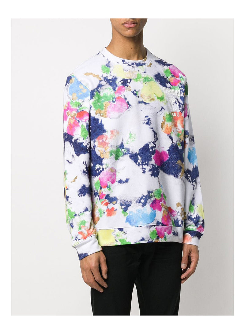 Colour Splatter Sweat - Fantasy Print
