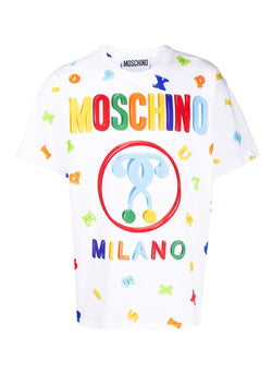 moschino fridge magnet moschino question mark tee fantasy print ss 2020