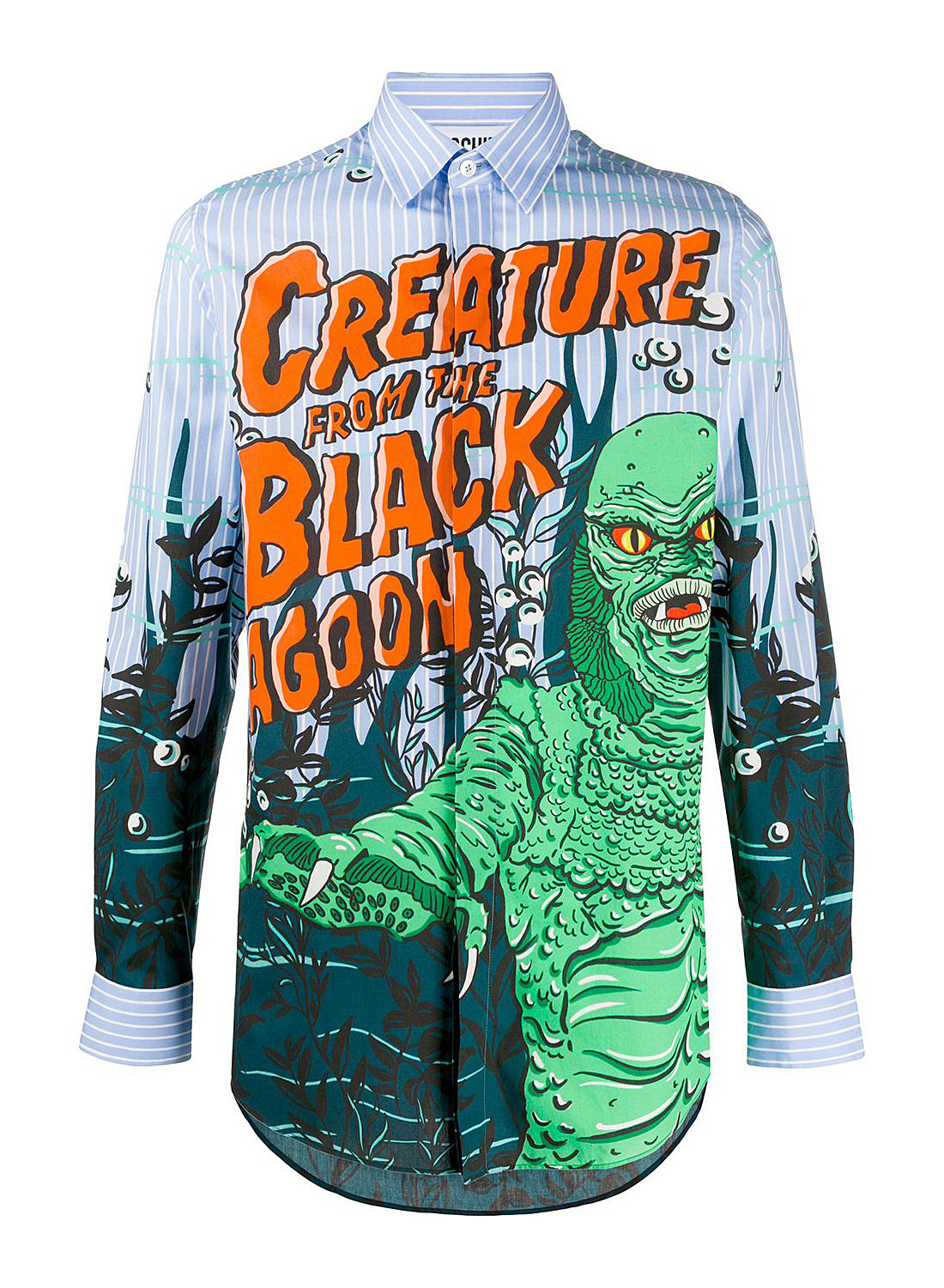moschino l s creature from the black lagoon shirt fantasy print ss 2020