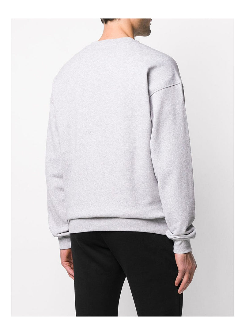Question Large Logo Sweat - Grey Marl