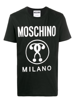 moschino question mark tee fantasy black ss 2021
