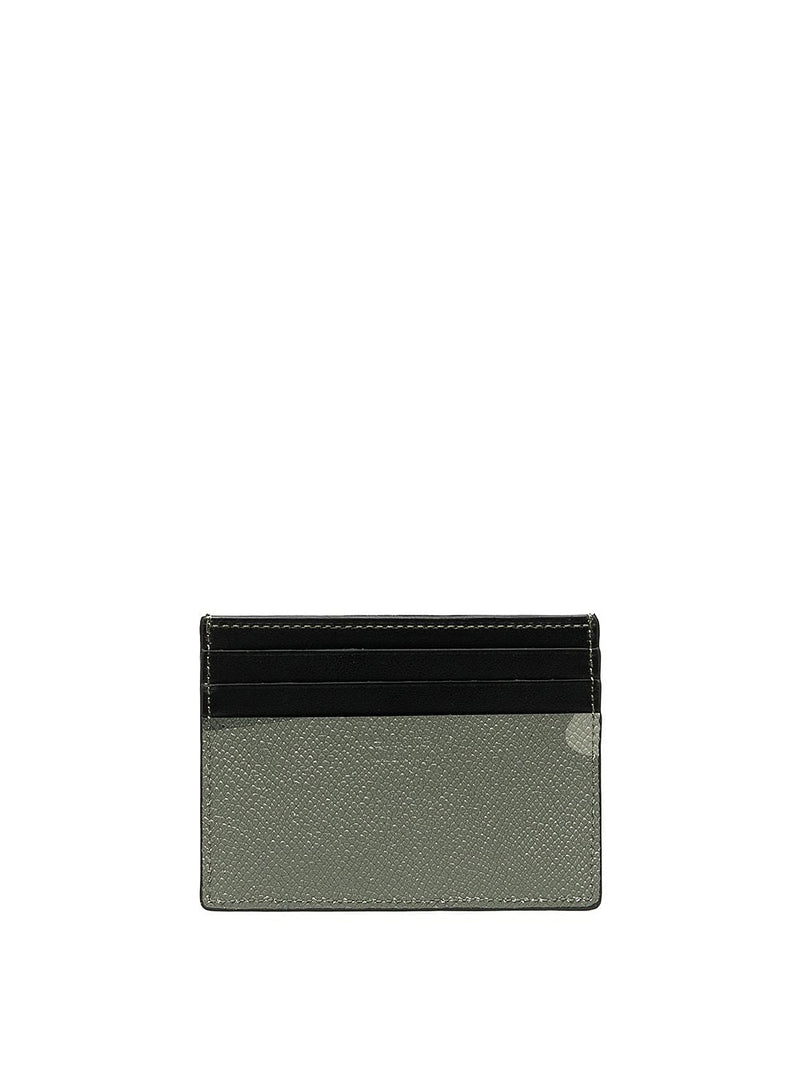 Camo Leather 4 Slot Cardholder - Camo