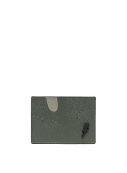 neil barrett camo leather 4 slot cardholder camo aw 2020