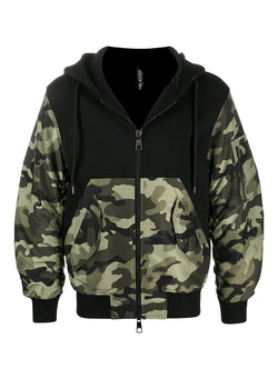 neil barrett camo monogram sweatshirt camo black aw 2020