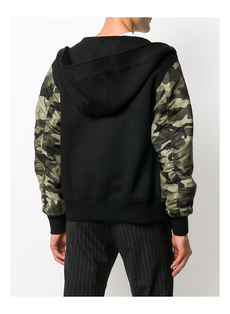 Camo Monogram Sweatshirt - Camo/Black