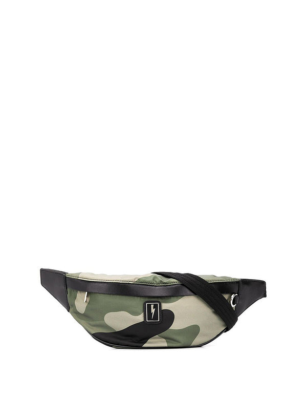 neil barrett camo nylon belt bag camo aw 2020