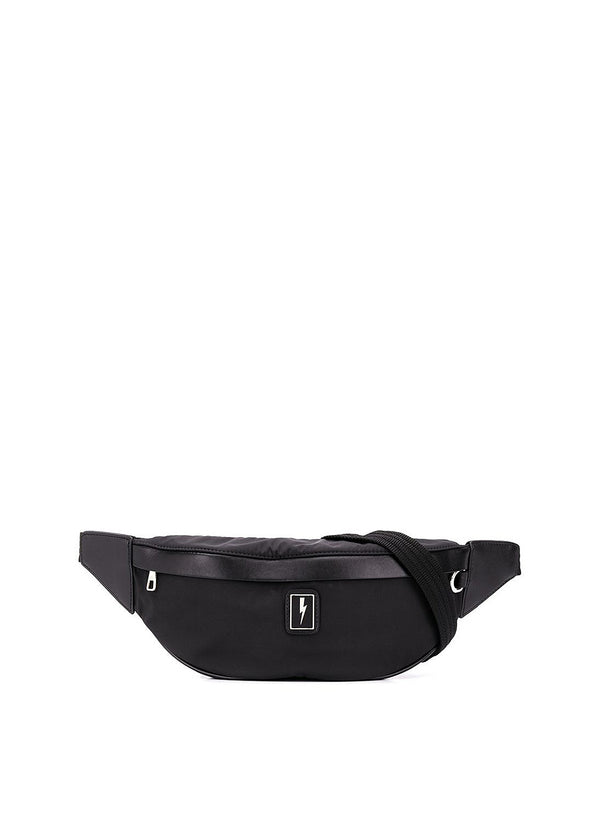 neil barrett nylon slim belt bag black aw 2020