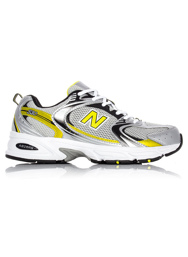 new balance unisex 530 trainer silver yellow ss 2020