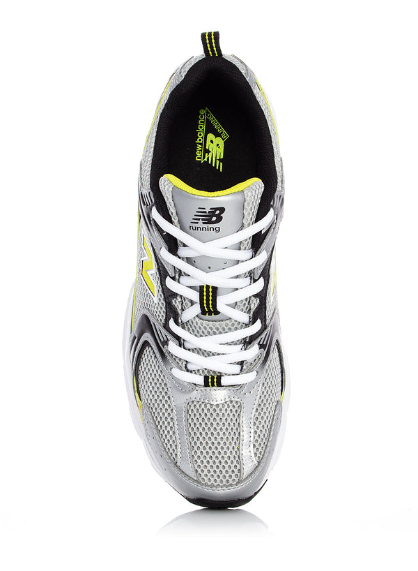Unisex 530 Trainer - Silver/Yellow