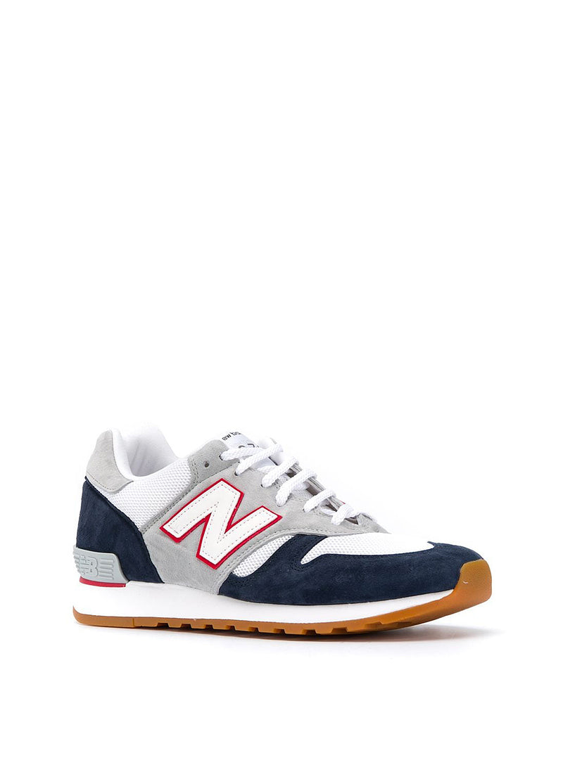 Made In The UK 670 Trainer - Navy/Grey/White