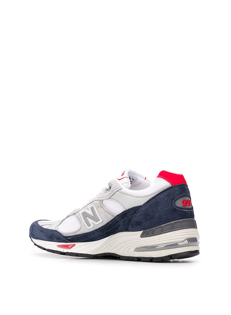 Made In The UK 991 Trainer - Navy/Grey/White