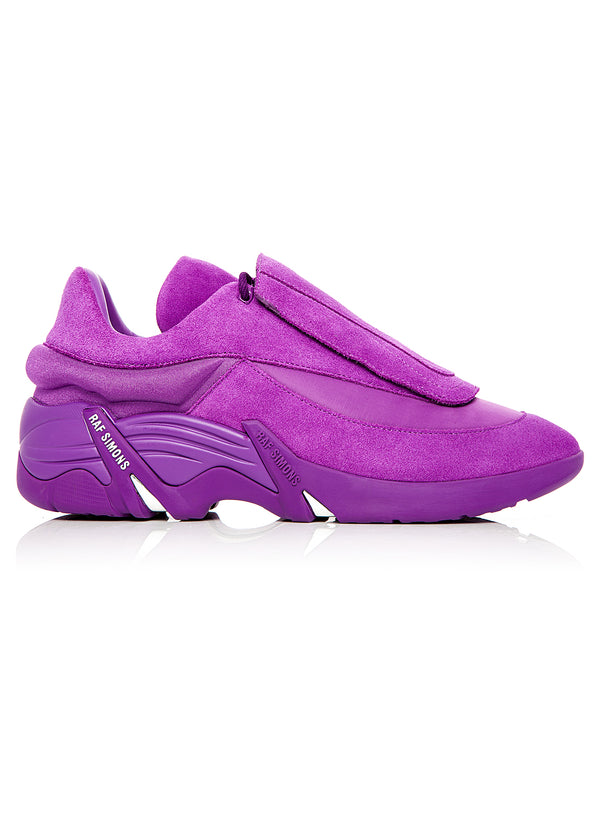 raf simons antei trainer purple aw 2020