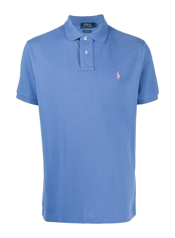 ralph lauren polo classic logo polo shirt blue aw 2020