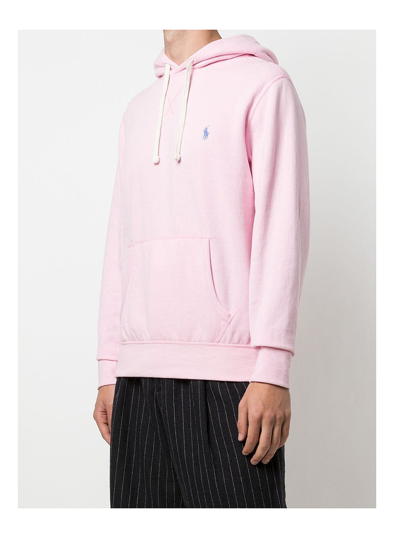 Classic Polo Hoodie - Carmel Pink