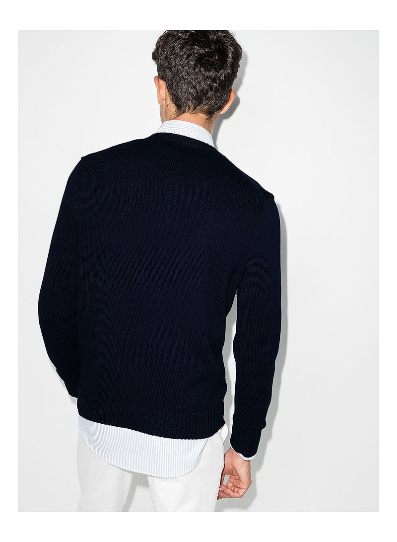 Long Sleeve Sweater - Hunter Navy