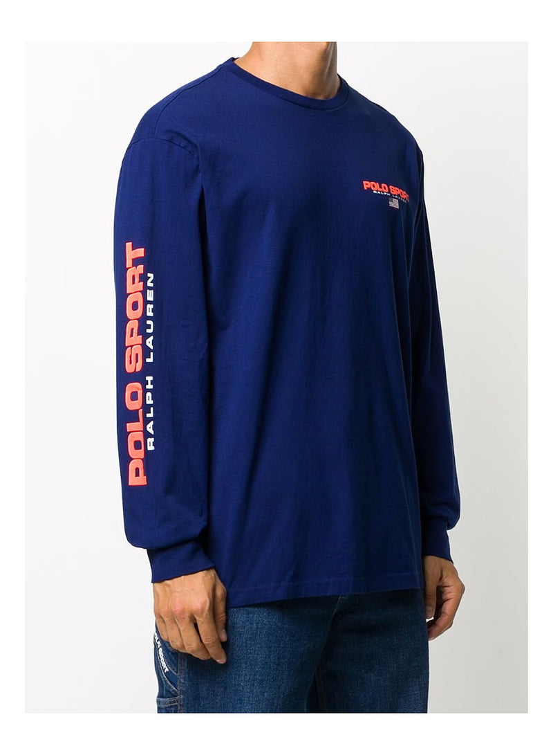 Long Sleeve Tee - Fall Royal