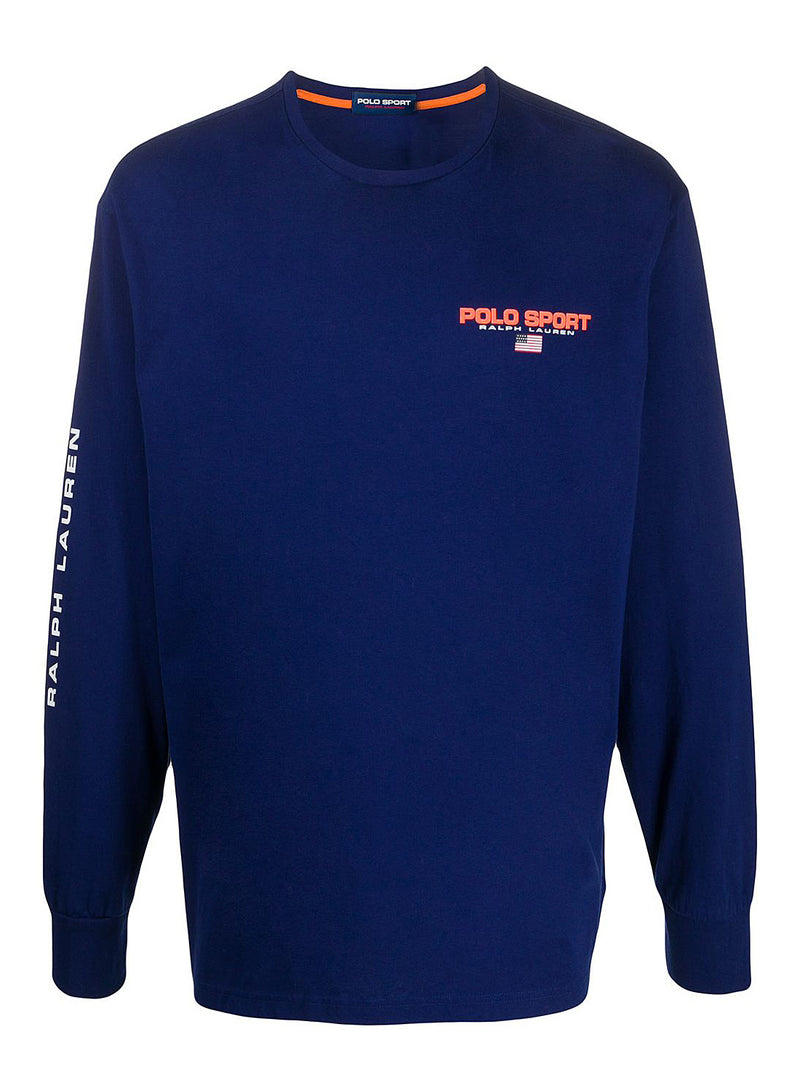 ralph lauren polo long sleeve tee fall royal aw 2020