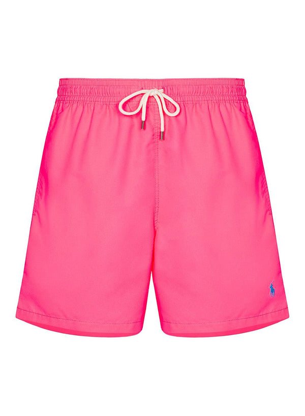 ralph lauren polo polo swim shorts blaze knockout pink aw 2020