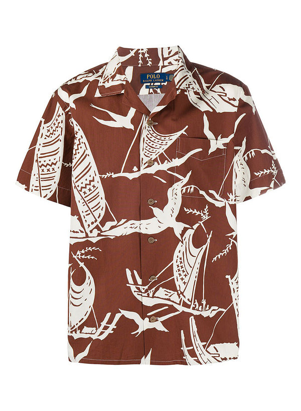 ralph lauren polo short sleeve bird shirt kon tiki expedition aw 2020