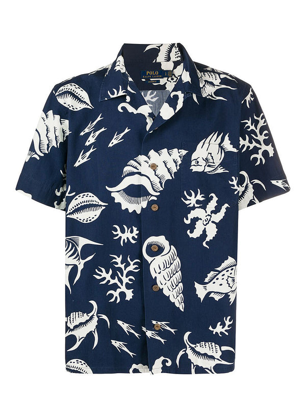 ralph lauren polo short sleeve sports shirt reef life aw 2020
