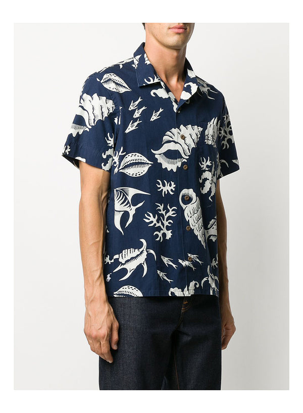 Short Sleeve Sports Shirt - Reef Life