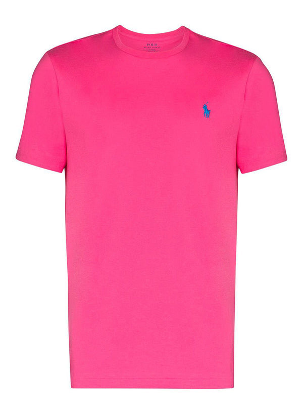 ralph lauren polo short sleeve tee blaze knockout pink aw 2020
