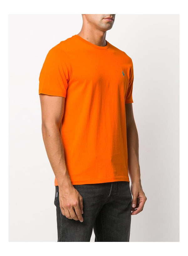Short Sleeve Tee - Orange Flash