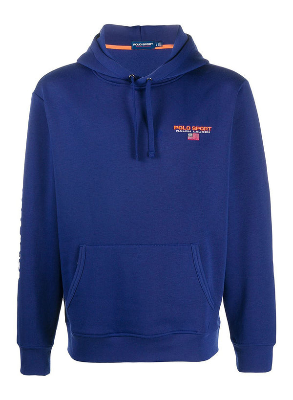 ralph lauren polo sport hoodie fall royal aw 2020
