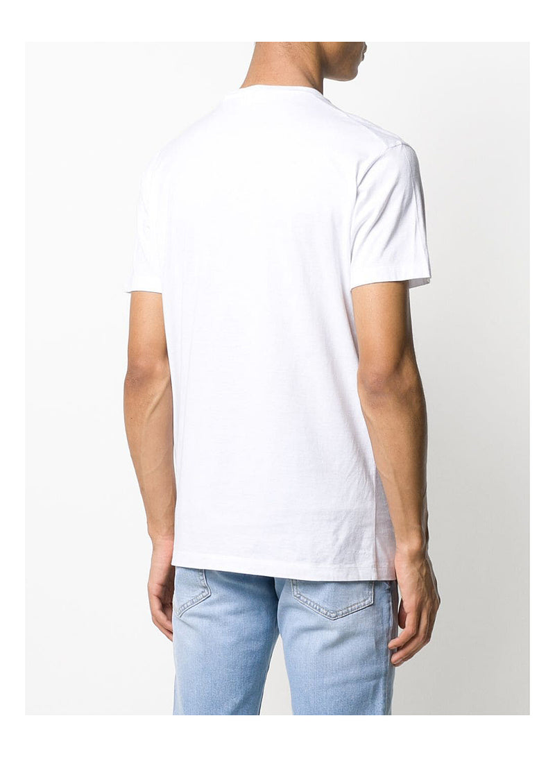 Small Central logo Tee - White