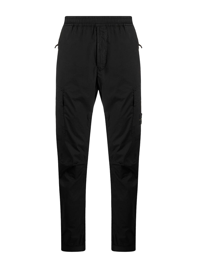 stone island cargo trousers black ss 2021