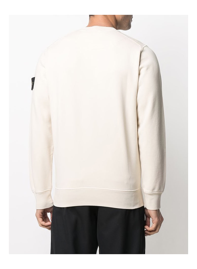 Classic Crew Neck Sweat - Ivory