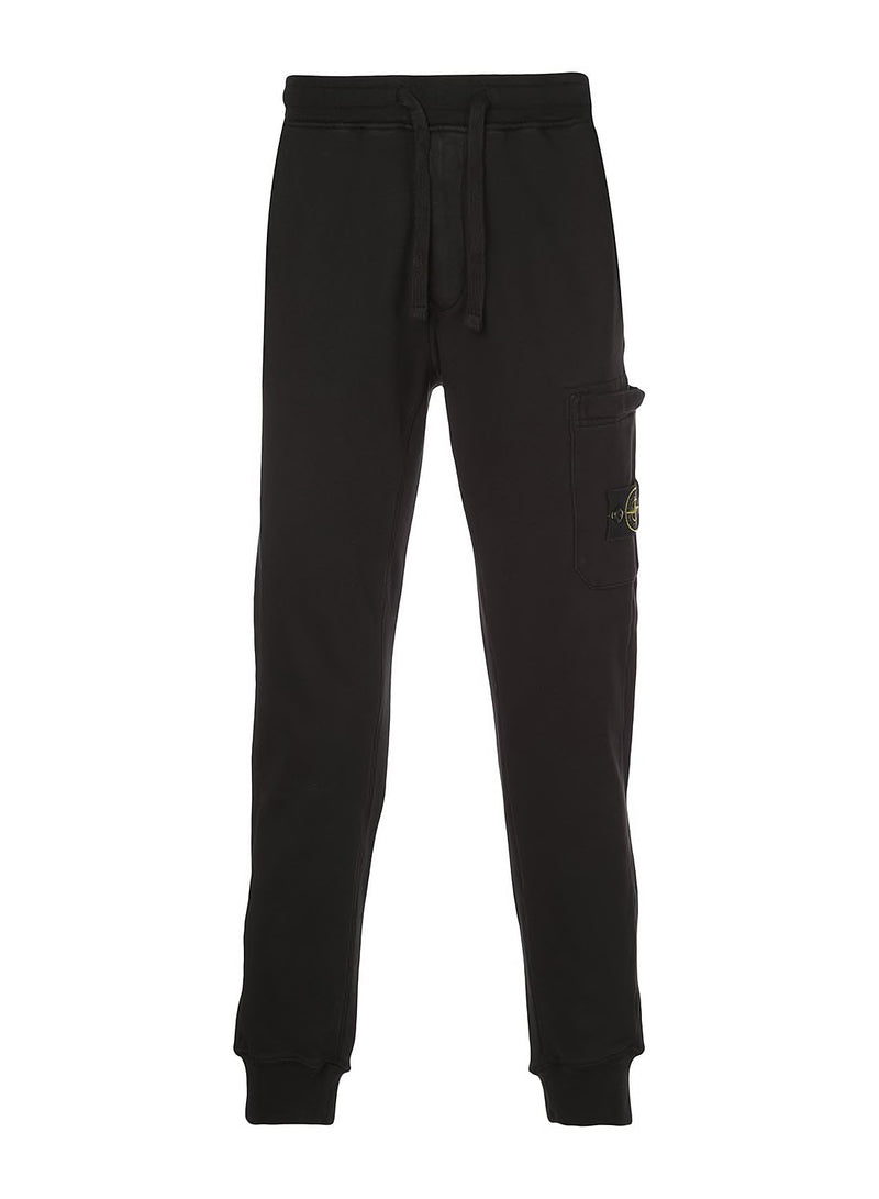 stone island classic track bottoms black ss 2020