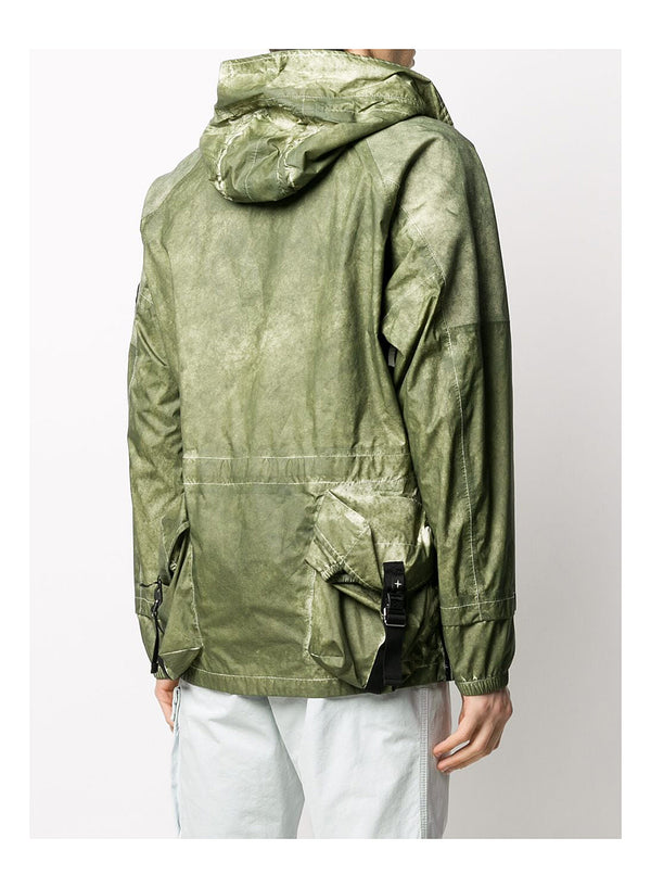 Membrana + Oxford 3L With Dust Colour Finish Jacket - Green