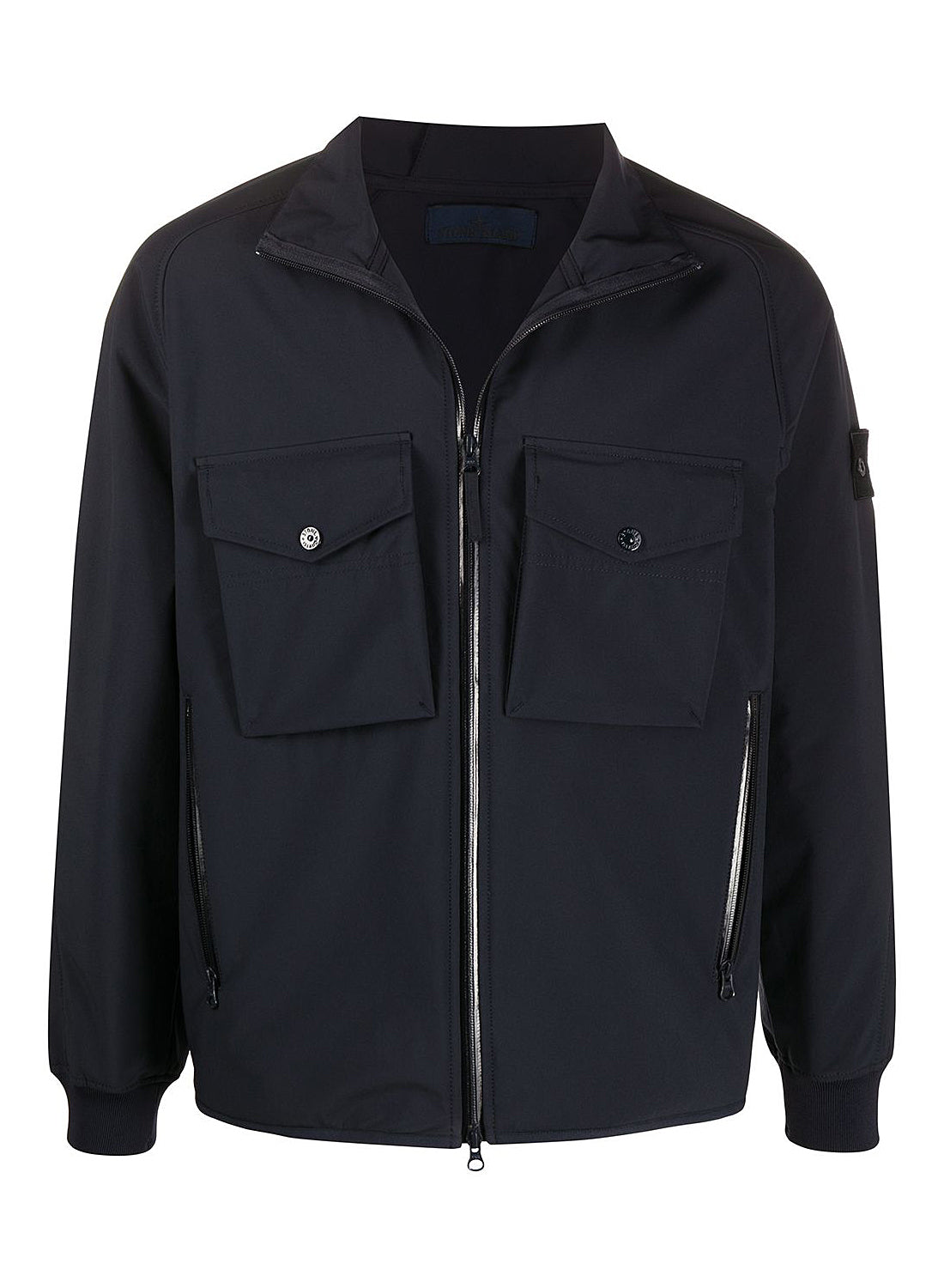 Poliestere Stretch 5L Ghost Piece Jacket - Navy