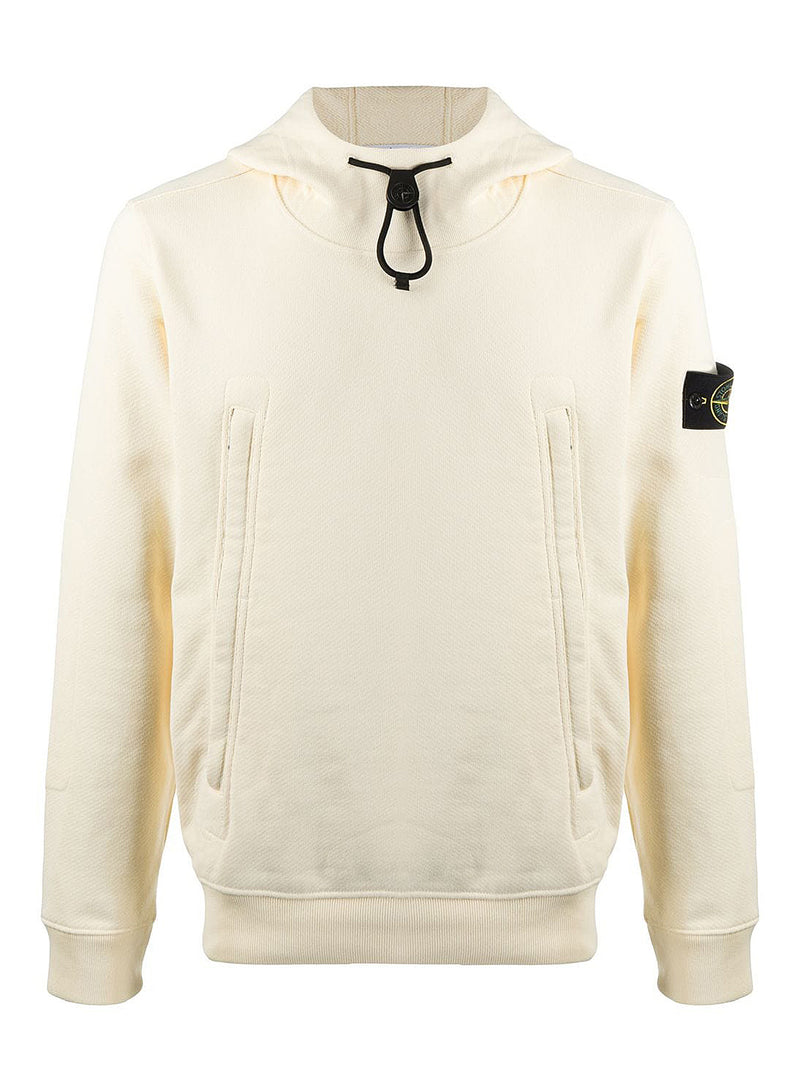 stone island pullover hoodie butter aw 2020