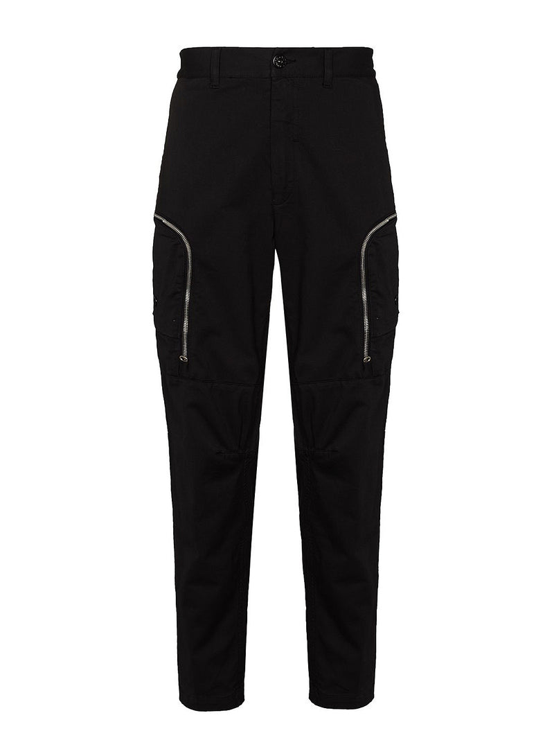 stone island shadow project cargo trousers black aw 2020