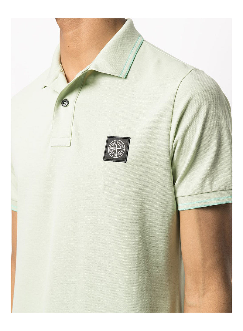 Small Logo Polo Shirt - Light Green