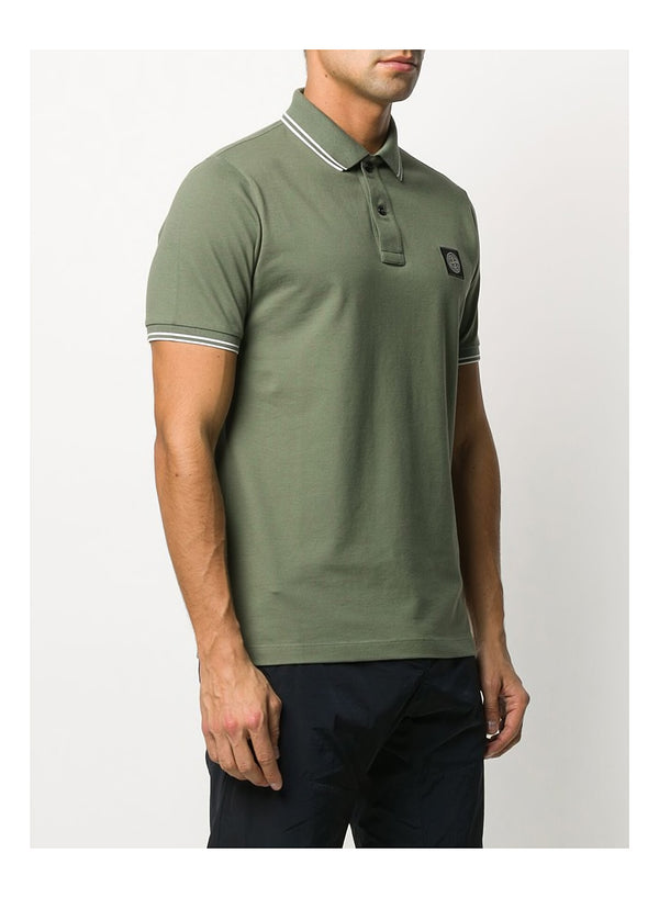 Small Logo Polo Shirt - Olive