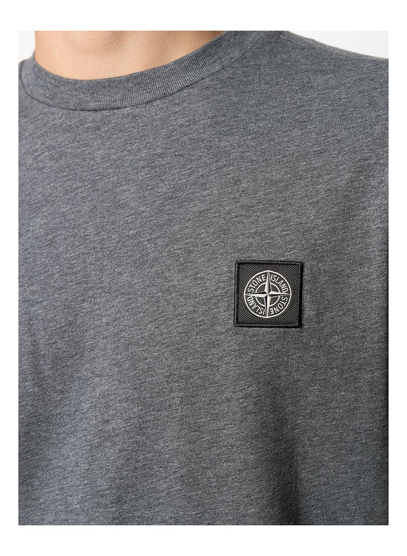 Small Logo Tee - Melange Dark Grey