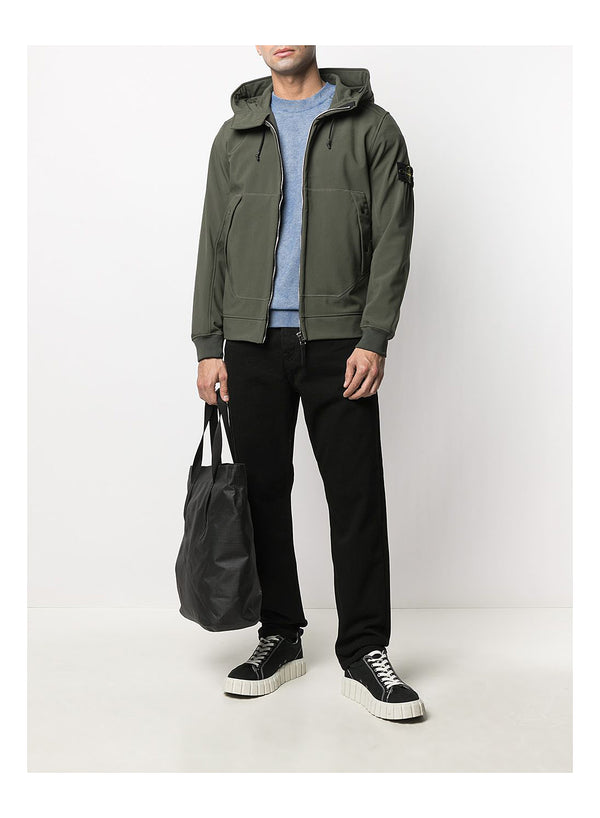 Soft Shell Hooded jacket - Musk