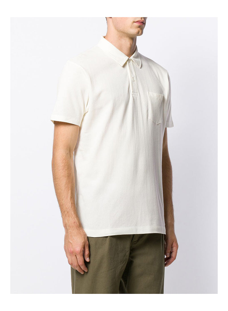 S/S Riviera Polo Shirt - Archive White