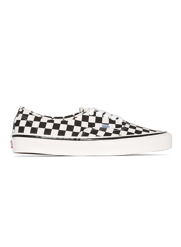 vans authentic 44 dx trainers black check aw 2020
