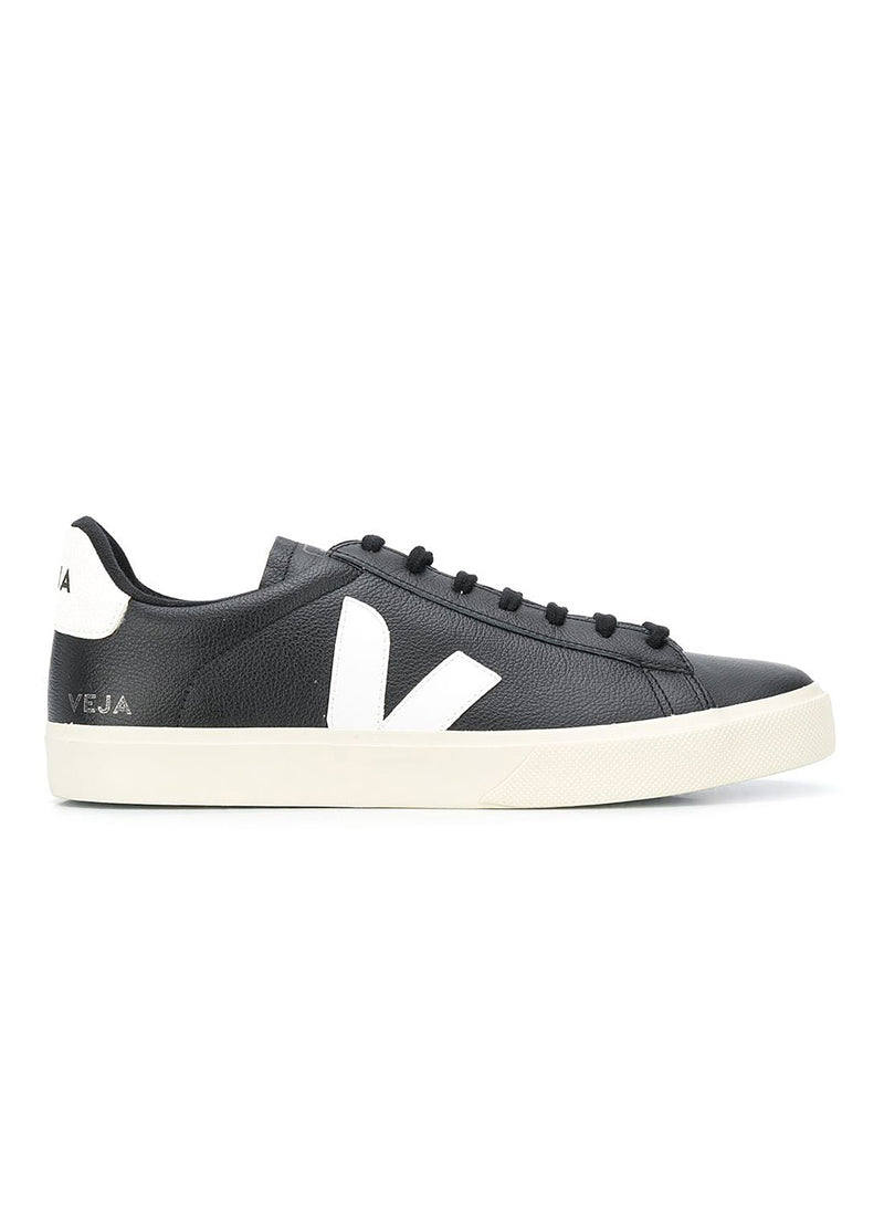 veja pack man campo chrome free leather black white aw 2020