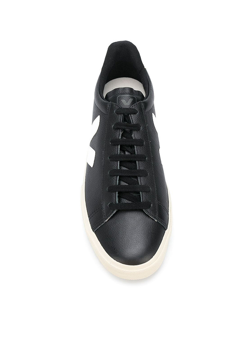 Pack Man Campo Chrome Free Leather - Black/White