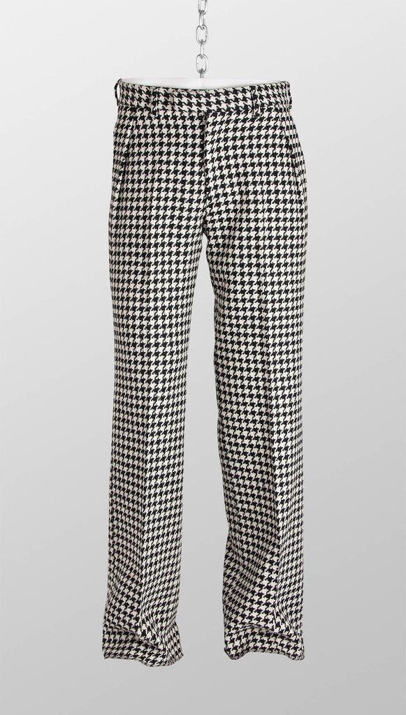 Vivienne Westwood MAN Houndstooth Wool Trousers