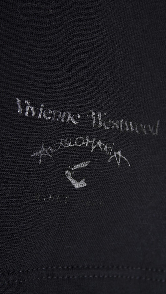 Vivienne Westwood Anglomania Classic Rose T-shirt - Black