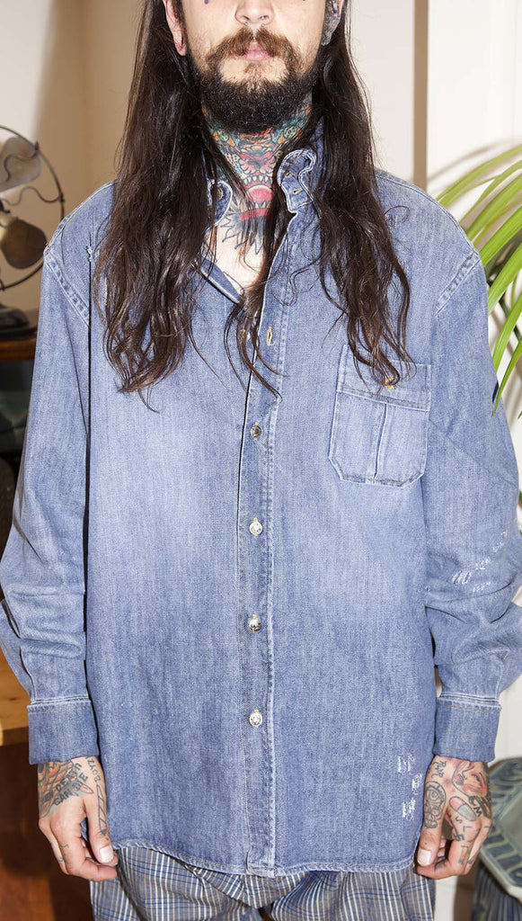 Vivienne Westwood Anglomania Denim Shirt