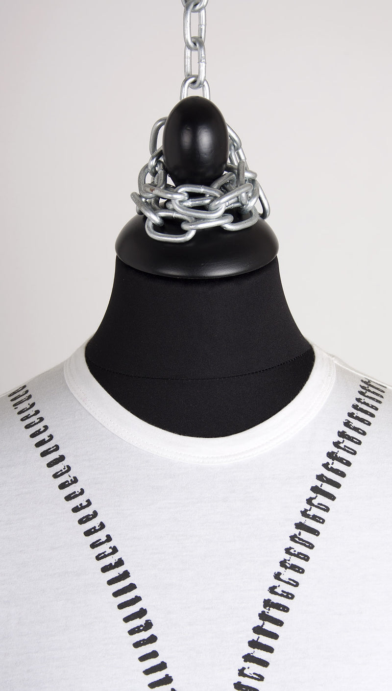vivienne westwood anglomania zip tshirt white collar
