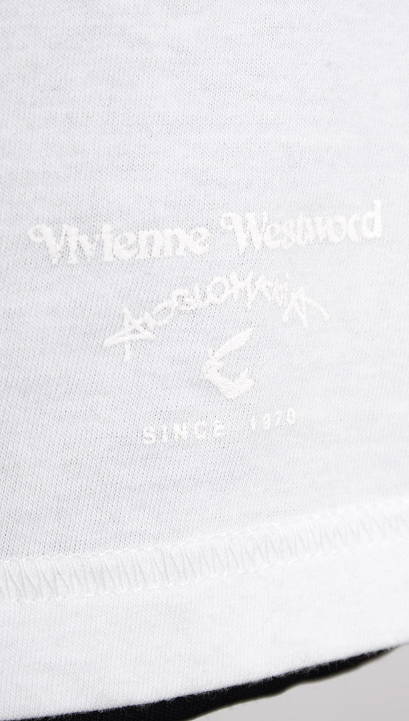 Vivienne Westwood Anglomania Zip T-shirt – White