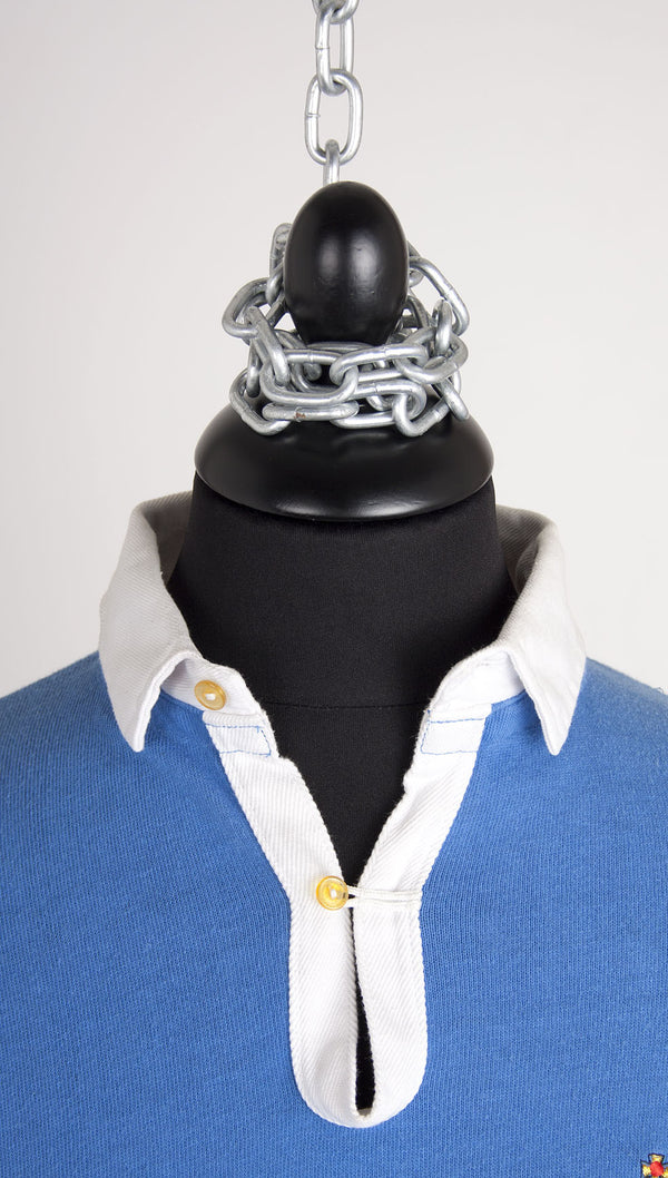 vivienne westwood gold label contrast rugby shirt collar